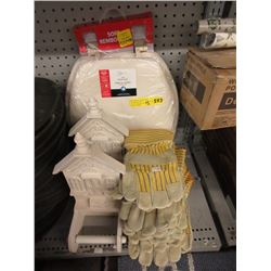 12 Pairs of New Gloves, Toilet Seat & More