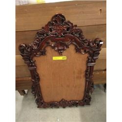 Carved Wood Wall Mirror Frame