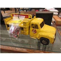 1950s Buddy L Coca-Cola Delivery Truck