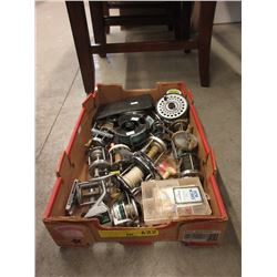 Large Assortment & Fishing Reels & Gear