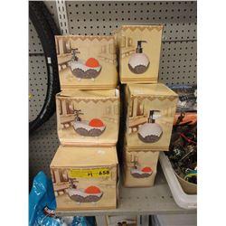 14 New Ceramic Soap Pumps