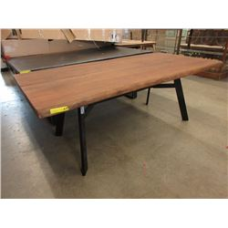 New LH Imports Live Edge Bow Tie Table