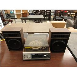 Vintage Webcor Stereo System with Garrard Turntable