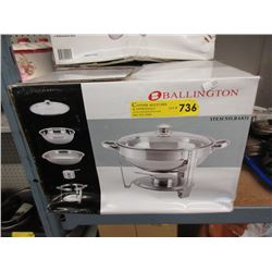 New 5 L Stainless Steel Chafing Dish