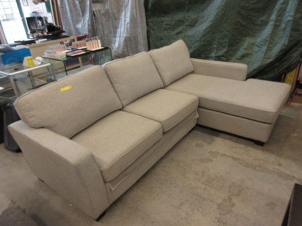 9 Foot Sectional Sofa Bed with Chaise End