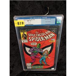 "Graded 1988 ""Spectacular Spider-Man #136"" Comic"