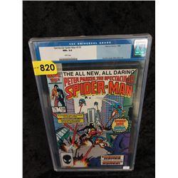 "Graded 1986 ""Spectacular Spider-Man #118"" Comic"