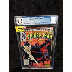 "Graded 1983 ""Spider-Man #81"" Marvel Comic"