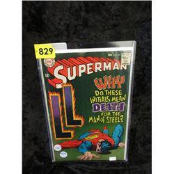 1967 Superman #204 DC Comic