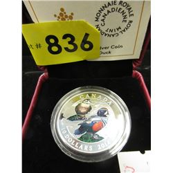 2014 Canadian .9999 Fine Silver Coloured  $10 Coin