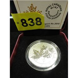 Canadian .9999 Fine Silver $10 Maple Leaf Coin