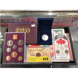 Collection of Assorted Coins and Tokens