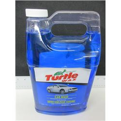 Large 2.95 liter Turtle Wax Concentrated Car Wash / spotless brilliant shine