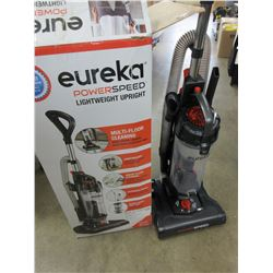 Eureka Power Speed Lightweight Upright Vacuum / Open box Tested Working / looks new