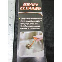 New Drain Cleaner Excellent for Removing Hair from clogged drains