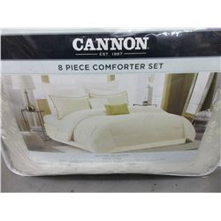 New King Size 8 piece Comforter set
