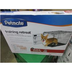 New Pet Mate Wire Training retreat/Kennel for small-Med dogs / Beagle etc.