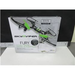 New Sky Viper Fury stunt Drone / with auto pilot & surface scan