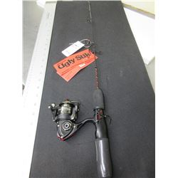 New Ugly Stick Ice Fishing Rod & Reel Combo / NOTE: no handle on the reel