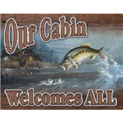 Our Cabin Welcomes All