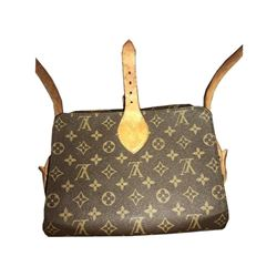 Certified Authentic Louis Vuitton Monogram Cartouchiere Shoulder Bag