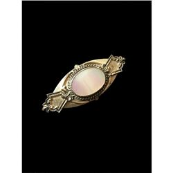 Mid 20thc Mother Of Pearl Brooch