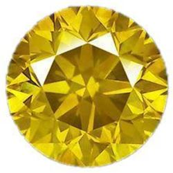 5ct Round Brilliant Cut Canary BIANCO Diamond