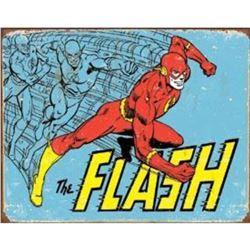 "The Flash - Retro 16""Wx12.5""H"