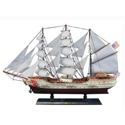 Wooden United States Coast Guard USCG Eagle Model Ship 32
