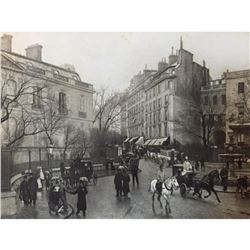 19thc Photogravure Print, Saint Georges, Paris