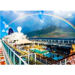 7 Night Hawaii Tahiti Cruise for 2, Saturday, Dates Vary