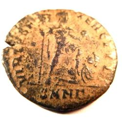 Bronze Coin of Arcadius (383-408 A.D.)