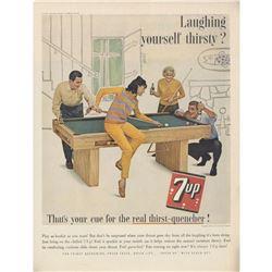 1963 7-Up Soft Drink Soda Advertisement
