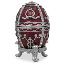 1895 Rosebud Russian Faberge-Inspired Egg