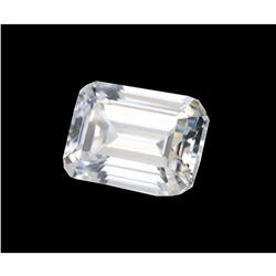 Emerald Step-cut Bianco Diamond 6aaa Loose Stone 10x8mm