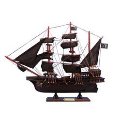 """Wooden Blackbeard's Queen Anne's Revenge Model Pirate Ship 15"""""""