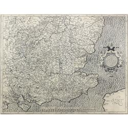 Late 16th / Early 17thc Map of South East England