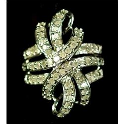 1 Ct. Diamond Dinner Ring