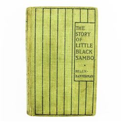 Helen Bannerman The Story Of Little Black Sambo 1900 Early Printing Antique Collectible Black Histor