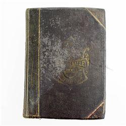 Antique History Americana History Of Hocking Valley Ohio 1883 Underground Railroad Civil War Abraham