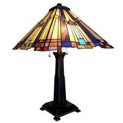 Tiffany-style Table Lamp