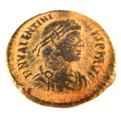 Bronze Coin of Valentinian II (375 - 393 A.D.)