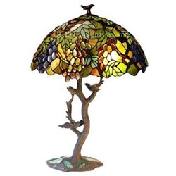 """2 Light Table Lamp 20"""" Oval Shade"""