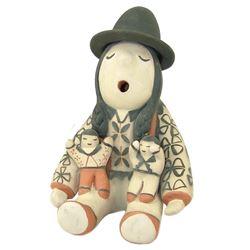 Cochiti Pottery Figure - M&L Trujillo