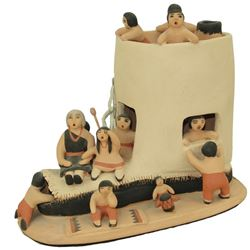Jemez Pottery Figures - Marie Romero