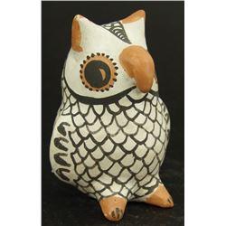 Acoma Pottery Owl - Eva Histia