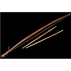 Nootka Bow and Arrows
