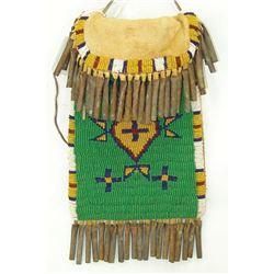 Lakota Style Beaded Bag