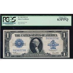 1923 $1 Silver Certificate PCGS 63PPQ