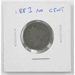 1883 USA No Cent Coin